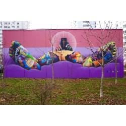 Viktoria Veisbrut - street art