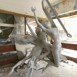 Elena Romenkova - sculpture glitch
