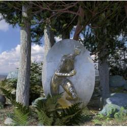 Elena Romenkova - sculpture glitch 3_sc_scul