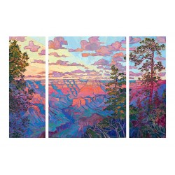 Erin Hanson - Grand Canyon in Triptych_pa_land