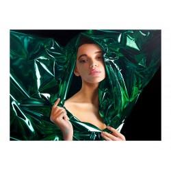 Sergey Piskunov - Girl in green foil