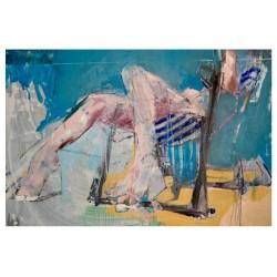Christos Tsimaris - Woman deck chair