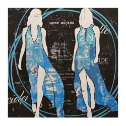 Jane Maxwell - Blue Circles - 2020
