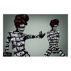 Stefan Sagmeister - body paint Nastya Durasova