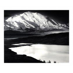 Ansel Adams - Mount McKinley and Wonder Lake_ph_mast_land_bw_vint