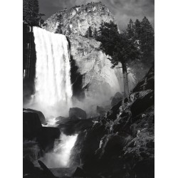 Ansel Adams - Vernal Fall_ph_mast_land_bw_vint