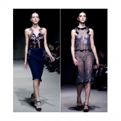 Christopher Kane - Plastic top filled with liquid 3 2011