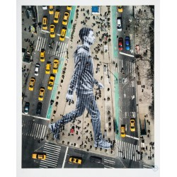 JR - Migrants Walking NYC - 2015_stree_jr-art.net+fr