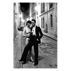 Helmut Newton - rue aubriot Paris - 1975