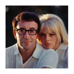 Douglas Kirkland - Britt Ekland and Peter Sellers - 1964-1968_ph_topm_vint_mast