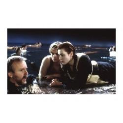 Douglas Kirkland - Director James Cameron with Leonardo...