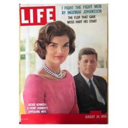 Mark Shaw - Jackie Kennedy Onassis and JFK - LIFE 1959_ph_vint