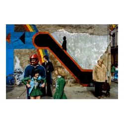 Harry Gruyaert - Carnaval d Anvers Belgium 1982