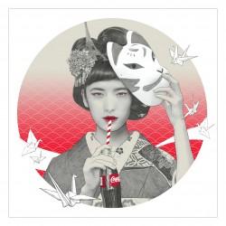 Kei Meguro - portrait For Coca-Cola x Adobe x You_di
