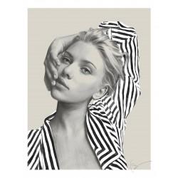 Kei Meguro - portrait Scarlett Johansson