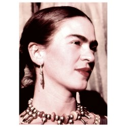 Frida Kahlo - portrait in the Colonia San Angel...