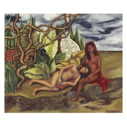 Frida Kahlo - Two Nudes in a Forest - 1939_pa_vint