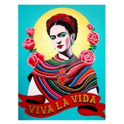 Gisella Stapleton - Frida Kahlo - Viva la vida_pa