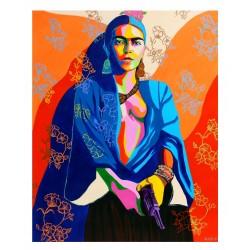 Gisella Stapleton - Frida Kalho - 2017 - based on the...