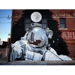 JEKS - mural Tulsa  Oklahoma  USA