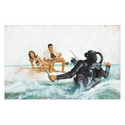 Robert McGinnis - James Bond Thunderball movie_di_vint