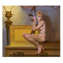 Robert McGinnis - Slab Happy from Richard S Prather_di_nude_vint