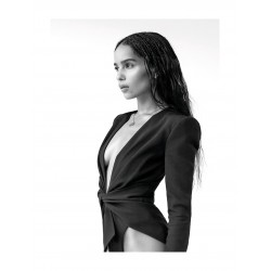 Zoe Kravitz - top model_ph_topm_bw