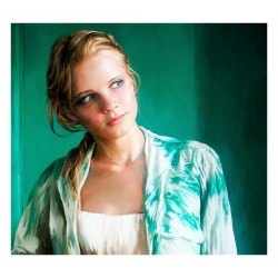 Andre Leonard- Girl in Greens