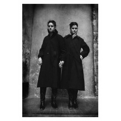 Jane Evelyn Atwood - Blind twins - St Mande school - France 1980