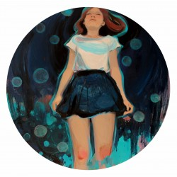 Liu Chenyang - Girl with the bubbles