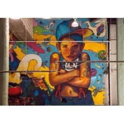 Natalia Rak - NYC Art Battle 2013 - photo by bibi_pa_stre
