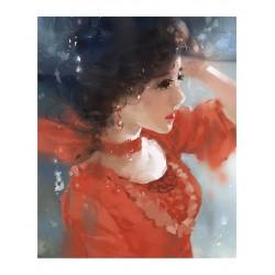 Z Ling Shu aka Shushuhome - Robe rouge
