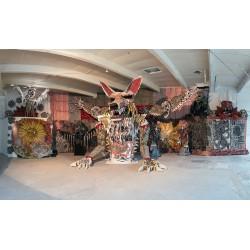 Dennis McNett aka Wolfbat - Art Basel - Wynnwood - Miami Florida_au_sc_scu