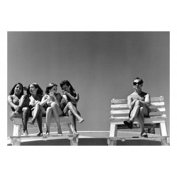 Joseph Szabo -  Lifeguard s Dream Jones Beach serie 1970s_ph_urba_bw_josephszabophotos.com