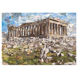 Vik Muniz - Parthenon_au_land