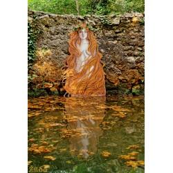 Zilda - Naiade des eaux rousses - Fontaine celtique de...