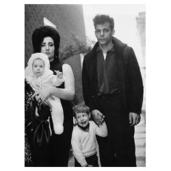 Diane Arbus - A young Brooklyn family going for a Sunday...