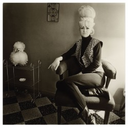 Diane Arbus photo - Lady Bartender_ph_anti_bw_vint