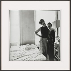 Diane Arbus - Two friends at home - NYC