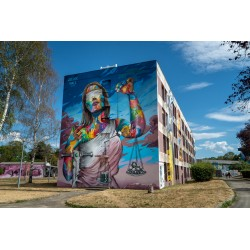 Snake - Street Art City LURCY-LEVIST